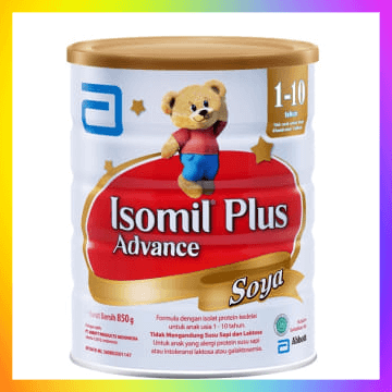 Susu Formula Soya Merek Isomil Plus Advance